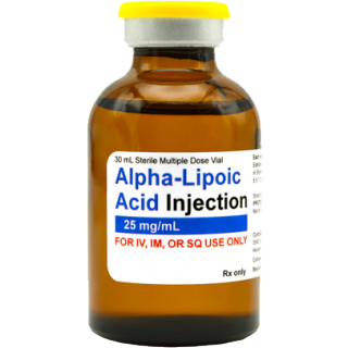Alpha Lipoic Acid injectable, 30mL