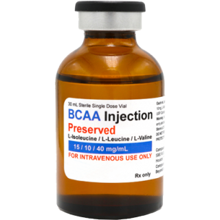 BCAA (Branched Chain Amino Acids) injectable, 30mL (Empower Pharmacy)