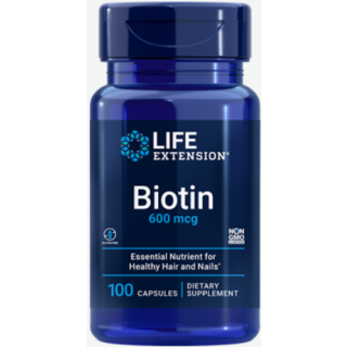 Biotin 600mcg (Life Extension)