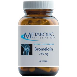 Bromelain 750mg (60 capsules) (Metabolic Maintenance)