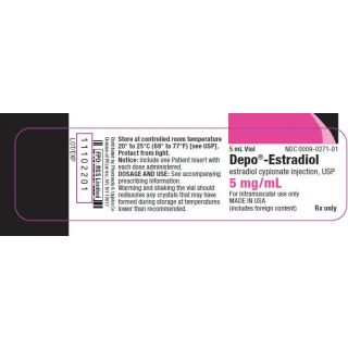 Estradiol 5mg/mL, 5mL injectable (Depo Brand)
