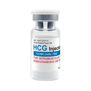 HCG 12,000iu vial (lyophilized)
