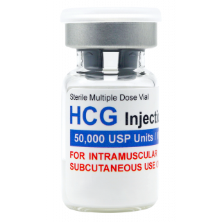 HCG 50,000iu vial (lyophilized)