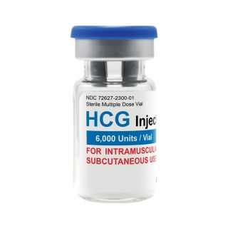 HCG 6,000iu vial (lyophilized)