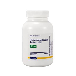 Hydrochlorothiazide 25mg tablet