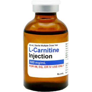 L-Carnitine 500mg/mL injectable, 30mL