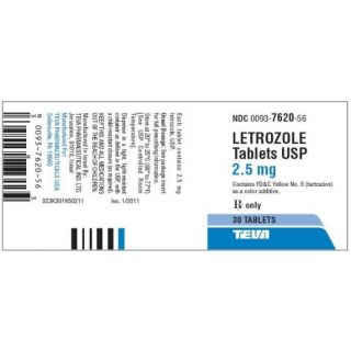 Letrozole 2.5mg tablet