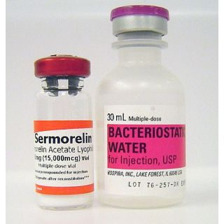 Sermorelin Acetate 15mg vial (lyophilized)