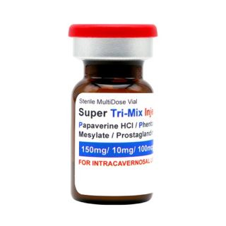 Super Tri-Mix injectable (lyophilized), 5mL