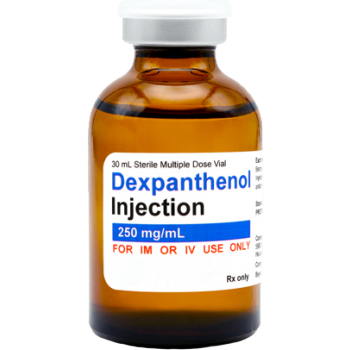 Dexpanthenol (Vitamin B5) injectable, 30mL