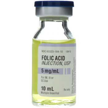 Folic Acid (Vitamin B9) injectable, 10mL