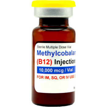 Methylcobalamin (Vitamin B12) 10,000mcg injectable, 10mL (lyophilized)