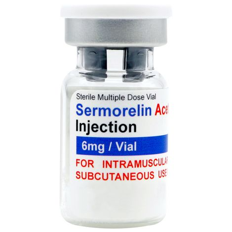 Sermorelin Acetate 6mg vial (lyophilized)